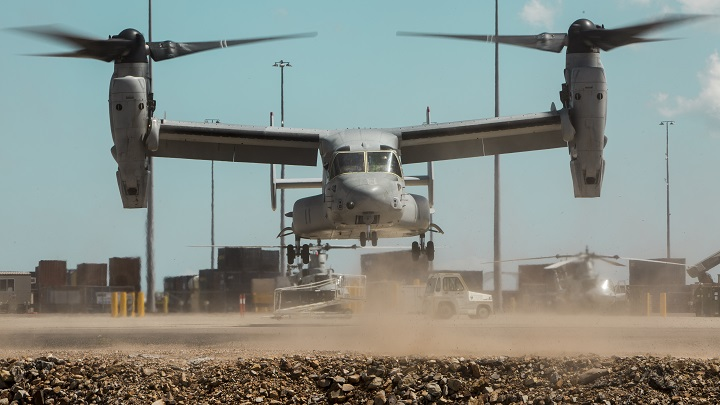 U.S. Marines transfer aircraft to RAAF base for MRF-D